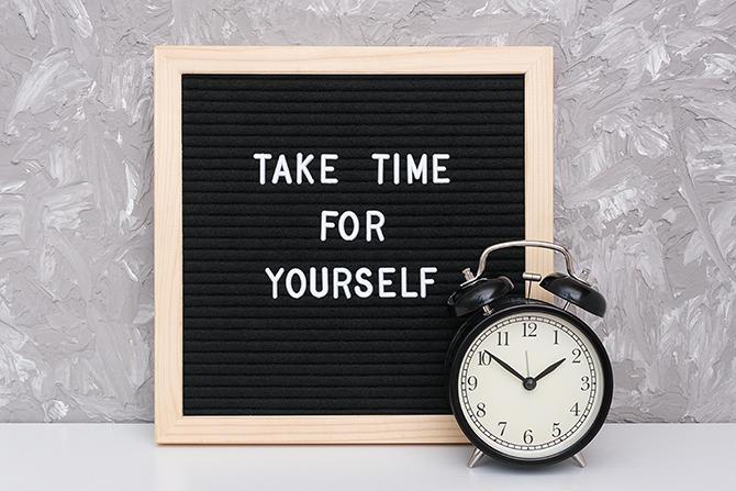Prendere tempo per sé, imparare a ricaricarsi